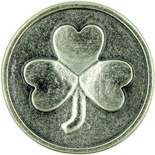 Lumen Mundi For Each Petal of the Shamrock A Wish Your Way Silver Tone Irish Pocket Token