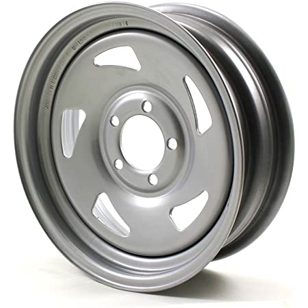 8X7 4//4 White Bell Trailer Wheel