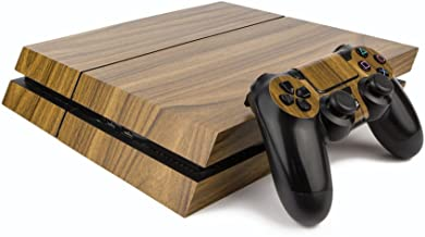Best Premium PS4 PlayStation 4 Wood Effect Vinyl Wrap / Skin / Cover for PS4 Console and PS4 Controllers: Walnut Review