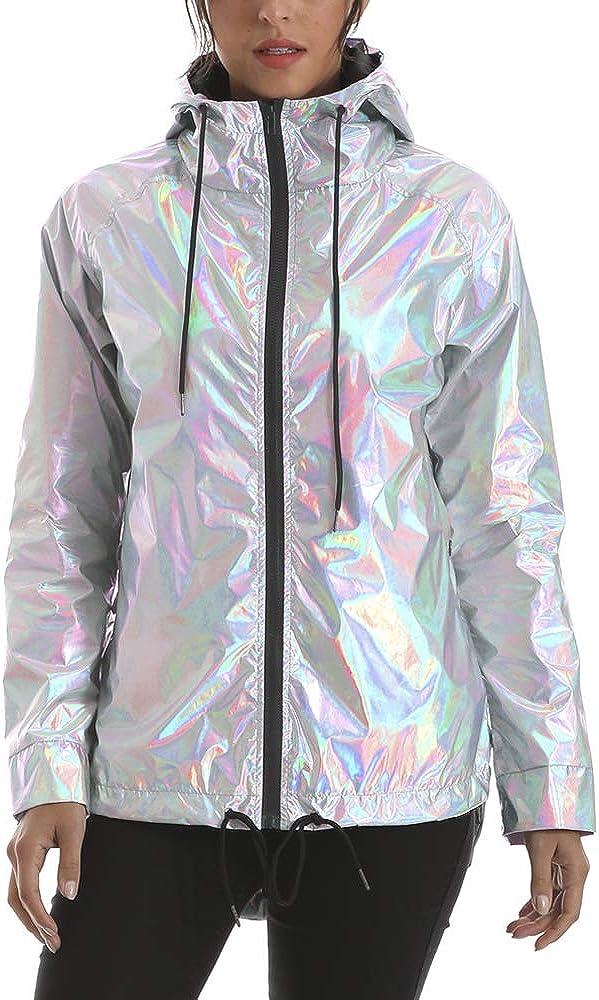RoseLily Women's Waterproof Rain Jacket with Lightweight sale T Fashion Hood