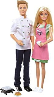 Barbie and Ken Cafè Set