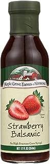 Maple Grove Farms Strawberry Balsamic Dressing, 12 Ounce -- 6 per case.