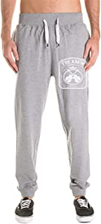 phjyjy Men's There's A Mole Among Us Jogger Sweatpants Basic Fleece Marled Jogger Pant Elastic Waist