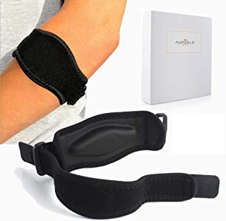 Tennis Elbow Brace (2+2 Pack) with Compression Recovery Pad for Men & Women - Best Tennis & Golfer's Elbow Support Strap B...