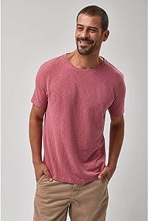 Camiseta Crepe - Rose
