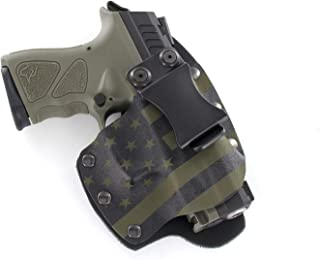 Infused Kydex USA: OD Green & Black USA IWB Hybrid Concealed Carry Holsters for More Than 200 Different Handguns. Left & Right Versions Available.