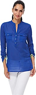 NAUTICA Shirts For Women, Blue XL