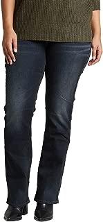 Women's Plus Size Suki Mid Rise Slim Bootcut Jean