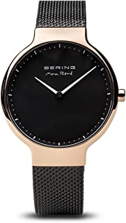 BERING Time 15531-262 Womens Max René Collection Watch with Mesh Band and Scratch Resistant Sapphire Crystal. Designed in Denmark.