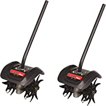 Trimmer Plus GC720 Garden Cultivator Attachment with Four Premium Tines for Attachment Capable String Trimmers, Polesaws, and Powerheads (Pack of 2)