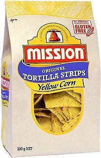 Mission Original Tortilla Strips, Yellow Corn Chips, 230g