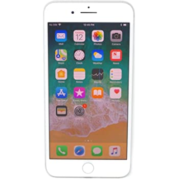 Apple iPhone 8 Plus, 64GB, Silver - For AT&T / T-Mobile (Renewed)