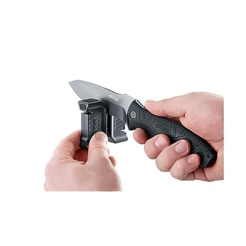 Walther Couteau Aiguiseur pour Couteaux de Cuisine et Couteaux de Chasse