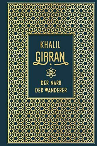 Der Narr / Der Wanderer: Leinen mit Goldprägung