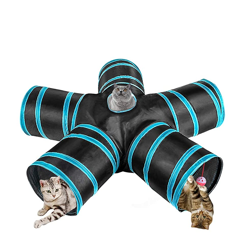 評価する信頼できるツインGreeSuit 猫 トンネル 猫 おもちゃ 5通 キャットトンネル ペット玩具 折りたたみ式 お留守番に ペット用品 子犬 うさぎおもちゃ