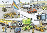 Ravensburger Busy Airport - 35 Piece Jigsaw Puzzle for Kids – Every Piece is Unique, Pieces Fit Together Perfectly