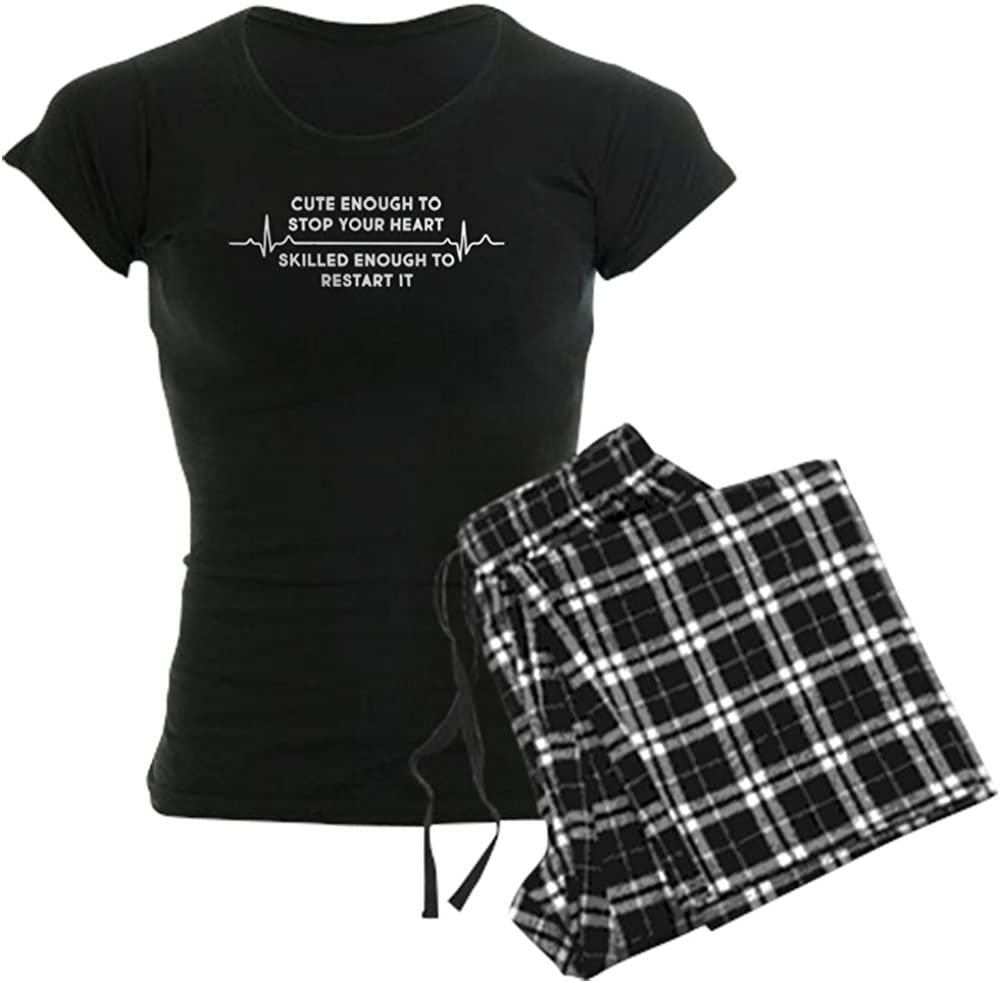 Luxury CafePress Cute Enough to Stop 5 ☆ very popular Your PJs Women's HEA