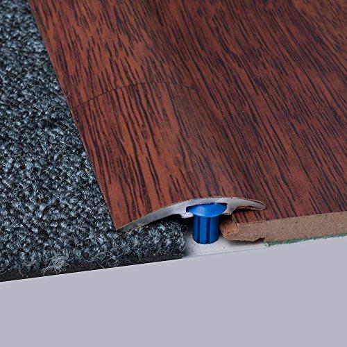 Laminat-Ausgleichsschiene Merbau Classic 900 mm, für 4 - 14 mm Höhenunterschied