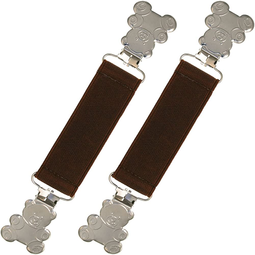 Extra Strong Elastic Teddy Bear Glove and Mitten Clips - Best Warranty!