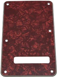 kaish Stratocaster ST placa posterior trémolo Floyd-Rose Protectora Rojo Pearl