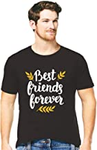 Hangout Hub Cotton Mens Tshirts Best Friends Forever Printed