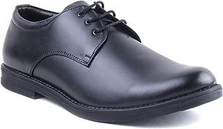 XY HUGO Plain Black Leather Formal Dress Shoe 9822