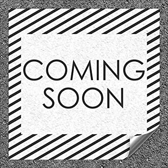 48x32 Stripes White Heavy-Duty Industrial Self-Adhesive Aluminum Wall Decal CGSignLab Coming Soon