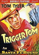 Tom Tyler Double Feature: Trigger Tom 1935 Santa Fe Bound 1937