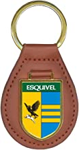 Esquivel Family Crest Coat of Arms Key Chains