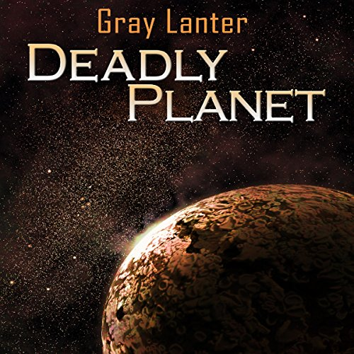 Deadly Planet audiobook cover art