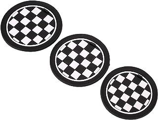 Bolange Tampon antidérapant de Support de Bouteille de Tasse de Silicone Tapis pour BMW SUV Cuisine de Bureau Disque de
