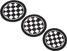 F56 F60 LFQ Lufuqiang Accesorios Interiores 2 Piezas de Coches de Fibra Grupo F de chasis de navegaci/ón de Carbono Adhesivo Decorativo for BMW Mini Cooper Countryman Clubman F54 F55