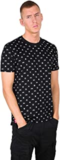 Alpha Industries Alpha All Over T-Shirt in Black