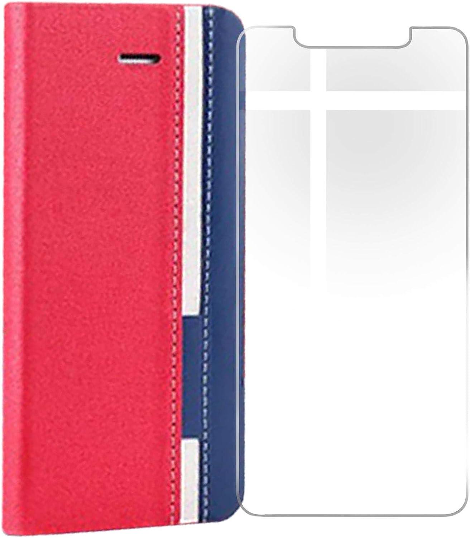 KJYF for Motorola Moto G20 Wallet P Screen Glass Tempered Superior Fresno Mall Case +