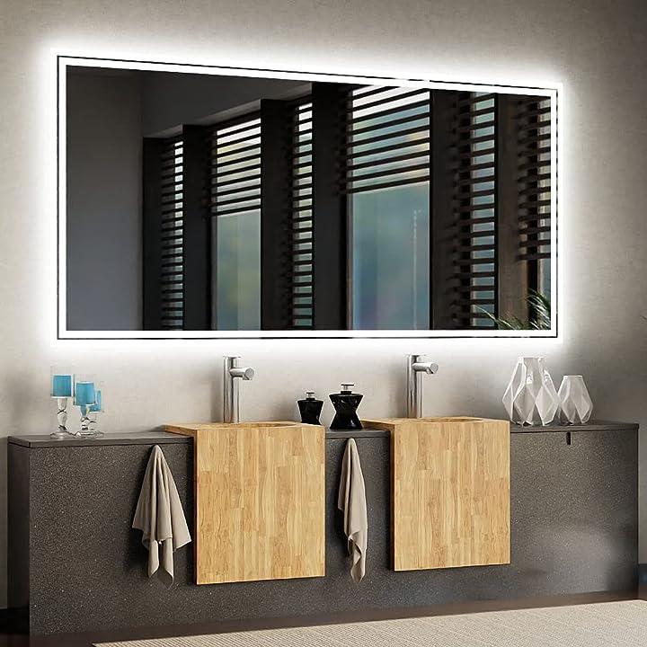 Specchio led - arredamento bagno arredamento casa specchio grande o piccolo - varie dimensioni arttor B07F6Y5557