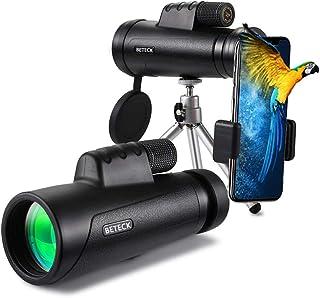 Telescopio Monocular 12 x 50, BETECK HD Zoom Óptico
