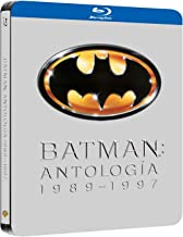 Pack Batman 1989-97 Black Metal Edition Blu-Ray