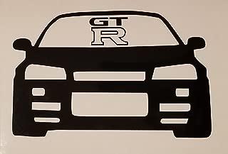 R32 GTR Car Decal- {Black} 5