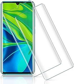 【2020年最新バージョン】Xiaomi Mi Note 10 Pro/Mi Note 10 ガラスフィルム Mi Note10 Pro 強化ガラス液晶保護フィルム 日本旭硝子素材 Mi Note10 全面保護フィルム 3D曲面 スムースタッチ...