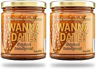 Wanna Date? Original Date Spread, Vegan, Paleo Friendly, Gluten-Free, Dairy-Free, Non-GMO, No Added Sugar, No Cane Sugar, ...