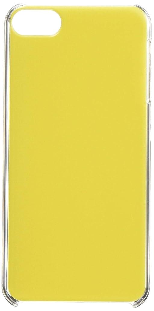 コンパイル用量後ガールズネオ apple iPod touch 第6世代 ケース (単色塗り イエロー) Apple iPodtouch6-PC-TAN-02