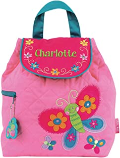 personalised quilted backpack