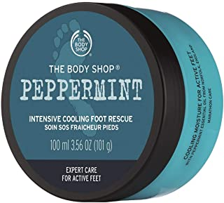 The Body Shop Peppermint Intensive Cooling Foot Rescue, 3.5 Fl Oz