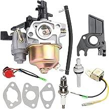 Fuel Li 16100-ZH8-W61 Carburetor with Tune Up Kit for Honda GX160 GX200 168F 5.5-6.5HP 163cc 196cc Engine WP30X Water Pump EB2200X EB2500X EM1600X Generator