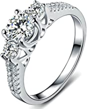 Best 10k gold cz engagement rings Reviews