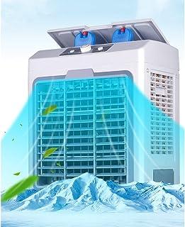 WANG XIN Unidad de Aire Acondicionado portátil de 5000 BTU, Kit de ventilación de Ventana, Entrada de Agua, 4 Ruedas giratorias, Blanco