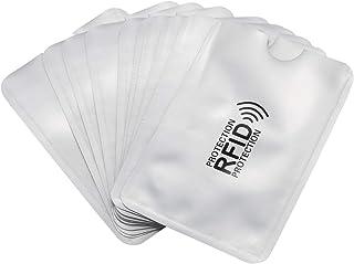 Andifany 10Pzs Cubierta de Tarjeta Anti-Desmagnetizacion de Hojuela de Aluminio Bolsa de Blindaje Rfid Cepillo Antirrobo T...