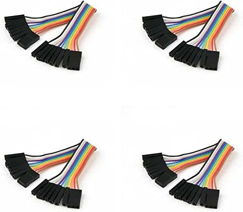 4 x Quantity of Walkera QR X350 PRO FPV (100mm) Super Clean RC Male to Male Ribbon Extensions Set(Servo Connector) - FAST FREE SHIPPING FROM Orlando, Florida USA