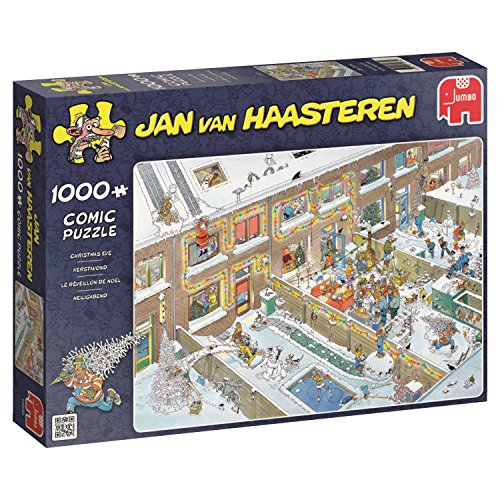 Jumbo - Puzzle Christmas Eve, 1000 Piezas (619030)