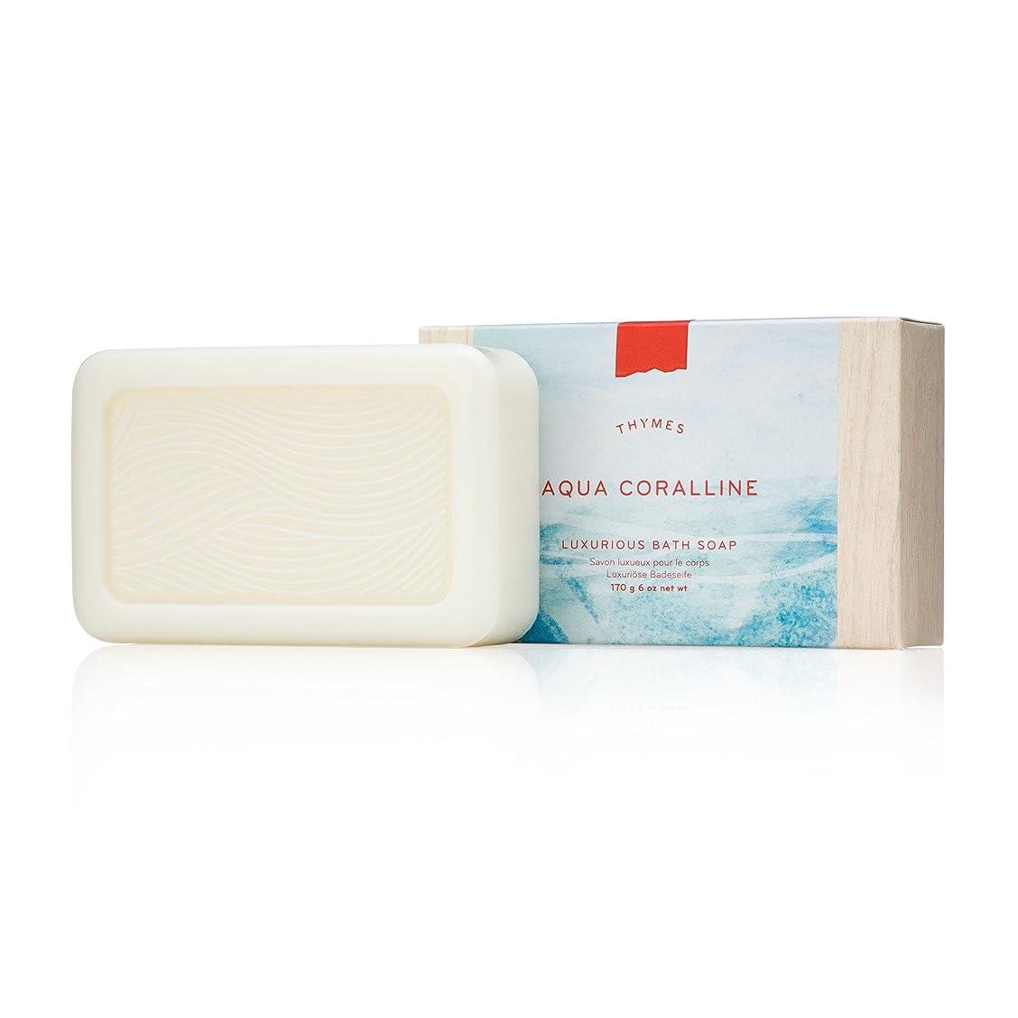 ベンチ摂氏度虫を数えるタイムズ Aqua Coralline Luxurious Bath Soap 170g/6oz並行輸入品